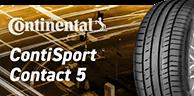 コンチネンタル/コンチ スポーツ コンタクト5